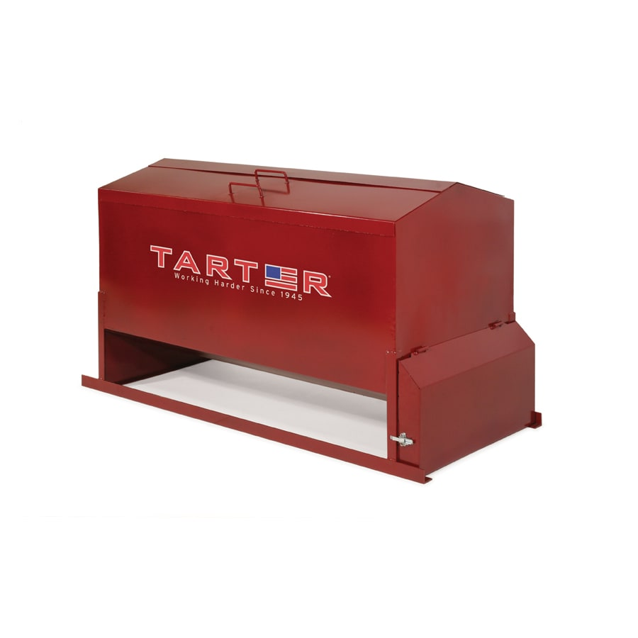 Tarter 1,200-lbs Painted Cow Feeder