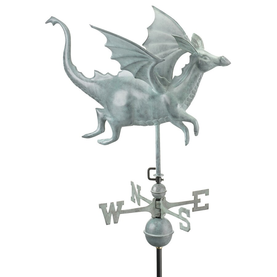 Good Directions Blue Verde Copper Dragon Weathervane