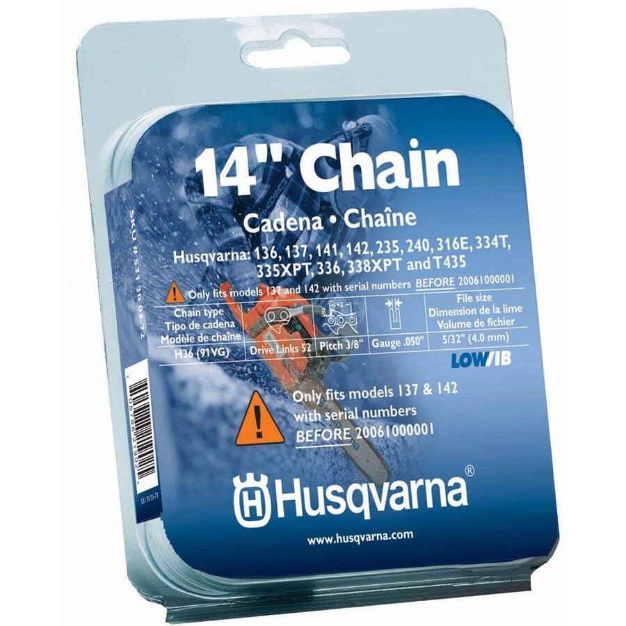 Husqvarna 14-in Replacement Saw Chain