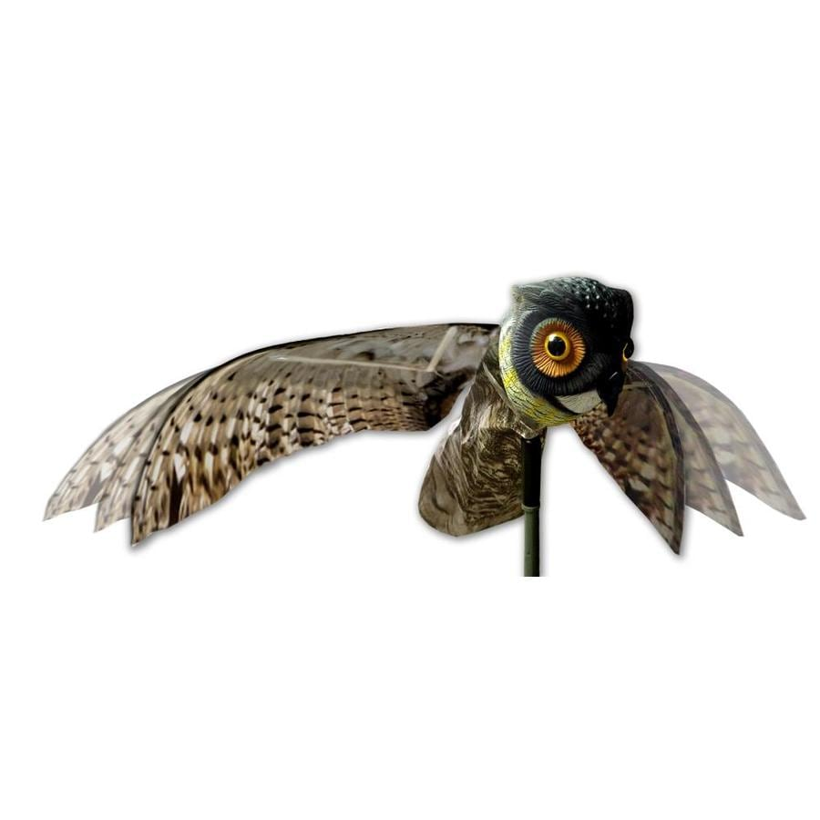 Bird-X 6-in H 23-in L Bird Repelling Owl Statue