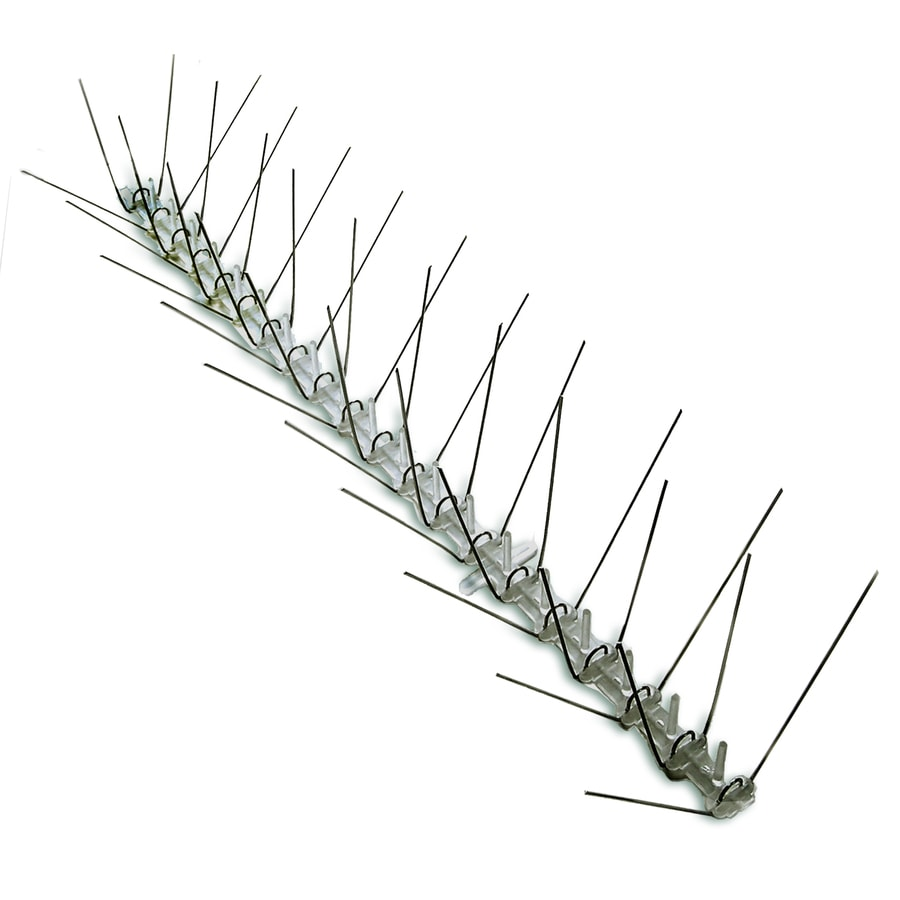 Bird-X 4.3-in H 600-in L Bird Repelling Spikes