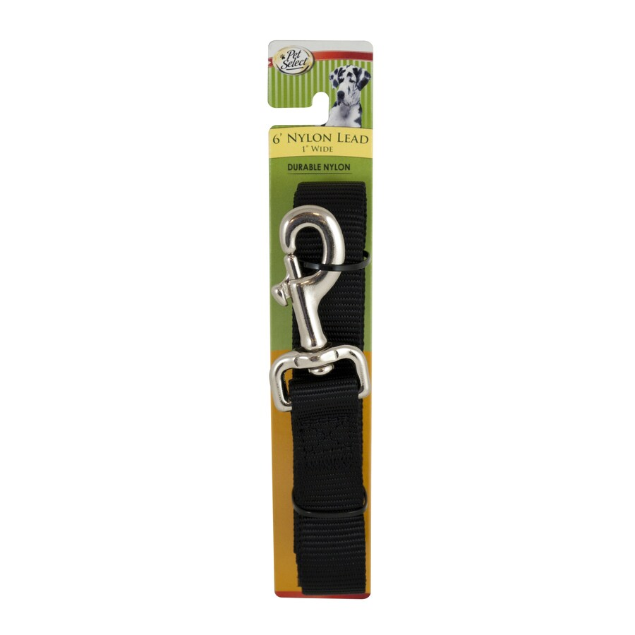 Four Paws Black Nylon Dog Leash