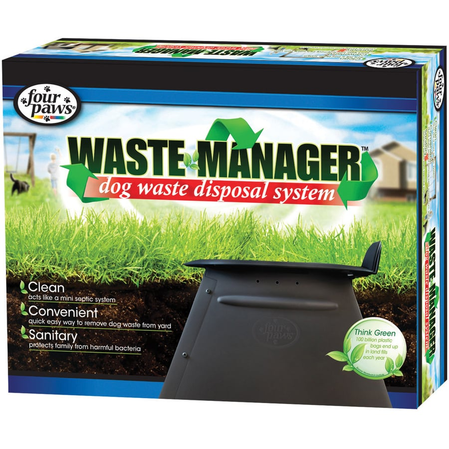 Four Paws Waste Management System