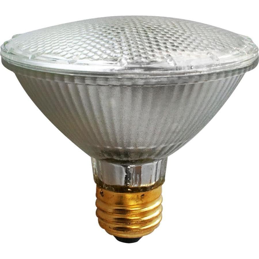 Utilitech 2-Pack 39-Watt Xenon PAR30 Shortneck Medium Base (E-26) Soft White Dimmable Halogen Flood Light Bulbs