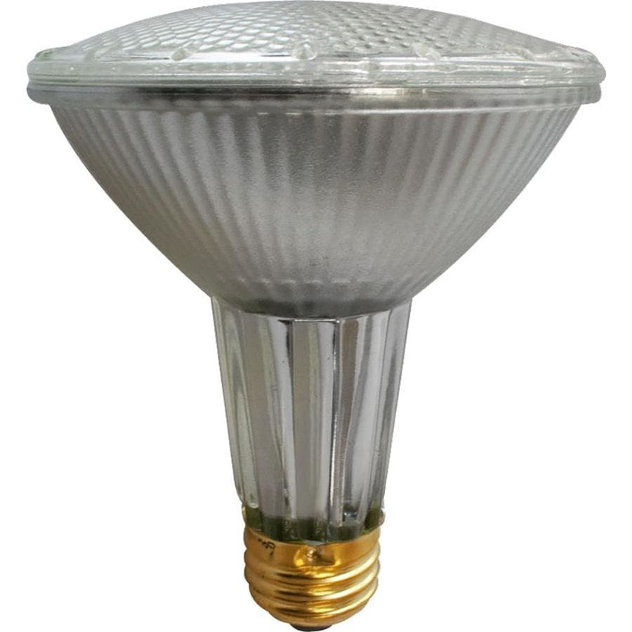 Utilitech 2-Pack 39-Watt Xenon PAR30 Longneck Medium Base (E-26) Soft White Dimmable Halogen Flood Light Bulbs
