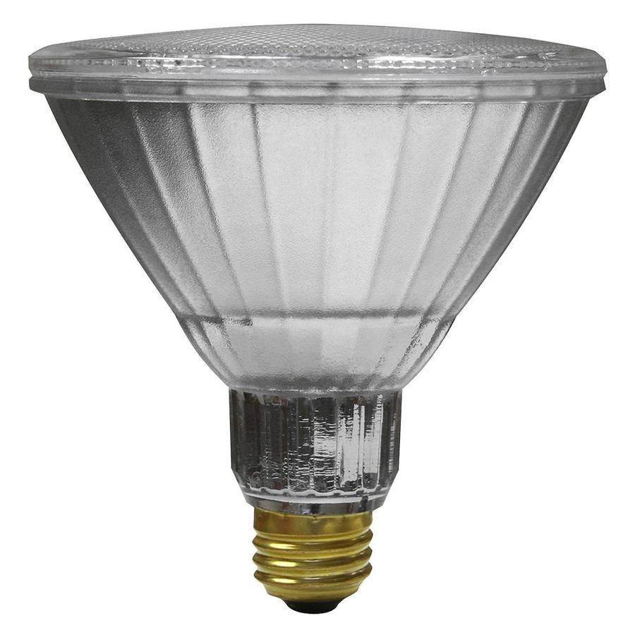 Utilitech Pro 2-Pack 15-Watt (90W Equivalent) 2700K PAR38 Medium Base (E-26) Soft White Dimmable Indoor LED Flood Light Bulbs