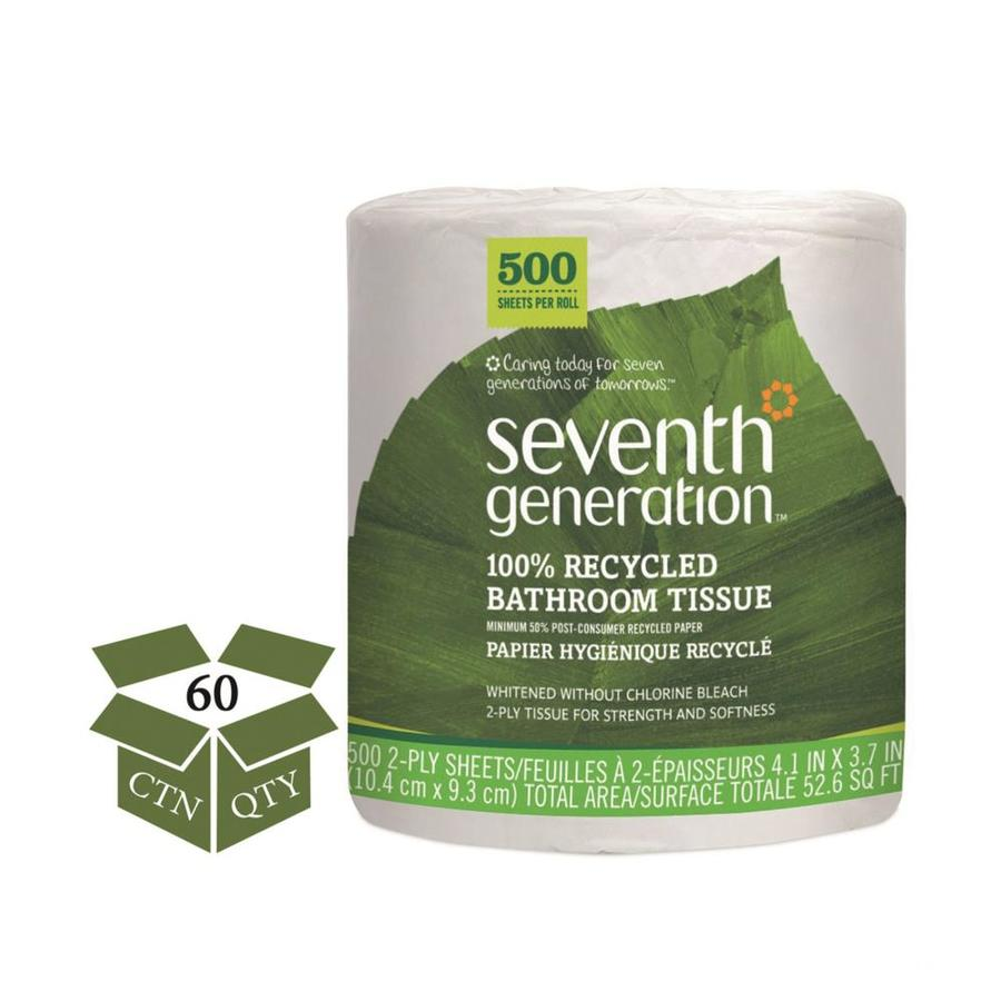 Seventh Generation 60-Pack Toilet Paper