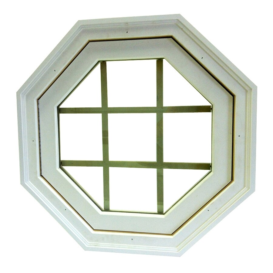 AWSCO Octagon Replacement Window (Rough Opening: 24.5-in x 24.5-in; Actual: 26.5-in x 26.5-in)
