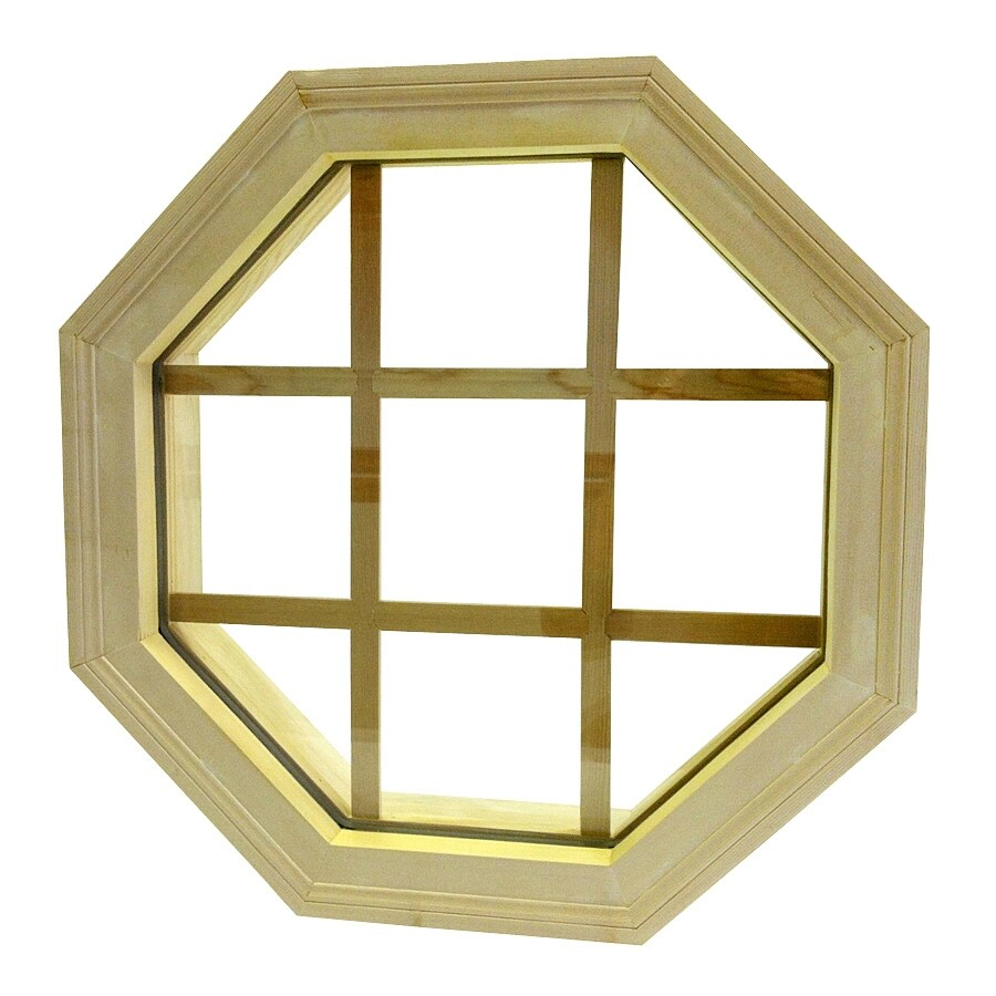 AWSCO Octagon Replacement Window (Rough Opening: 19.5-in x 19.5-in; Actual: 21.5-in x 21.5-in)