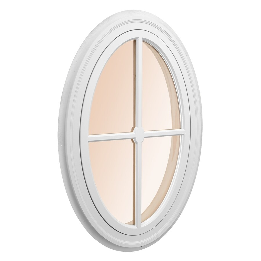 AWSCO Oval Replacement Window (Rough Opening: 14-in x 26.25-in; Actual: 16-in x 28.25-in)