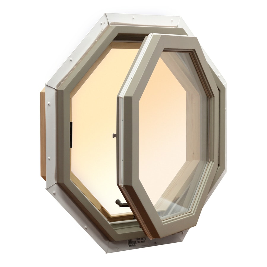 AWSCO Octagon Replacement Window (Rough Opening: 25.5-in x 25.5-in; Actual: 25-in x 25-in)