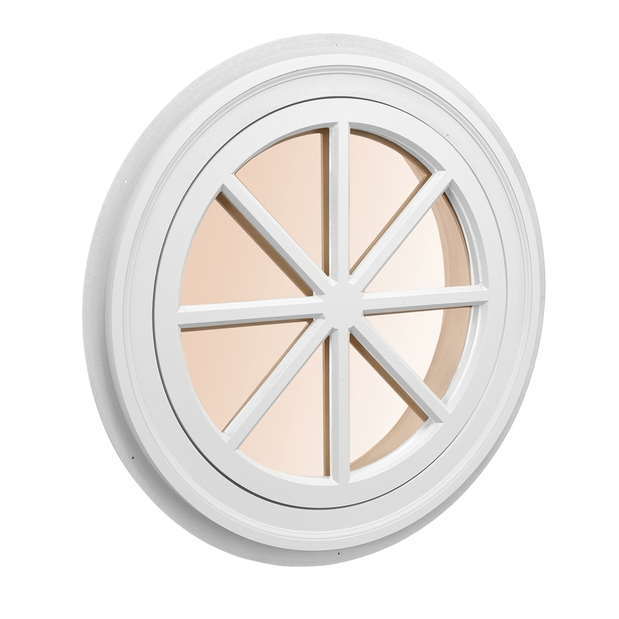 AWSCO Round Replacement Window (Rough Opening: 21.75-in x 21.75-in; Actual: 23.75-in x 23.75-in)
