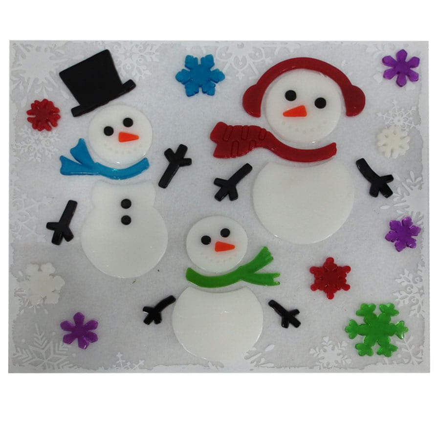 Holiday Living Gel Hanging Window Cling