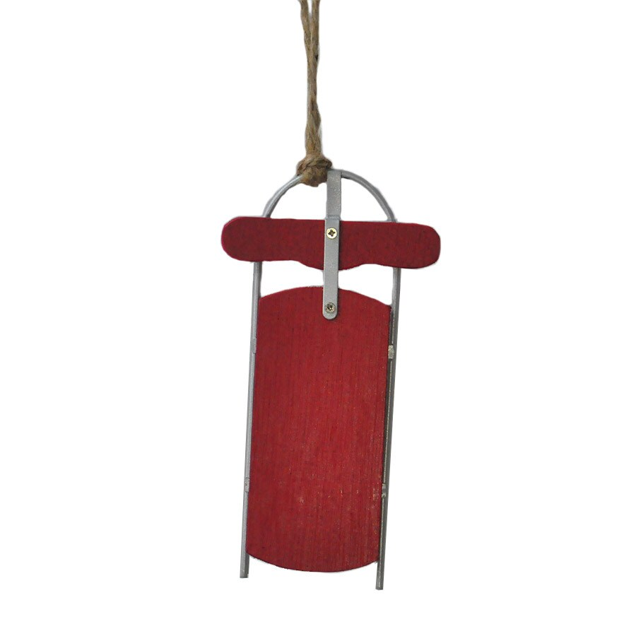 Holiday Living Multiple Sled Ornament