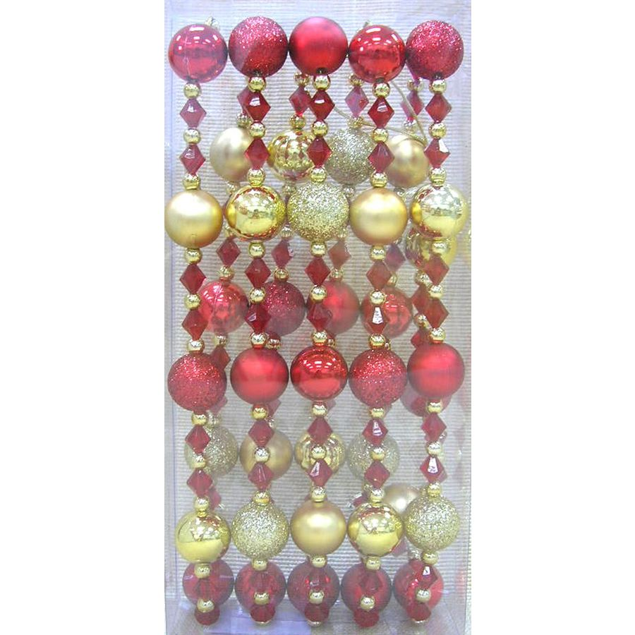 Holiday Living 9-ft Indoor/Outdoor Beaded Artificial Garland