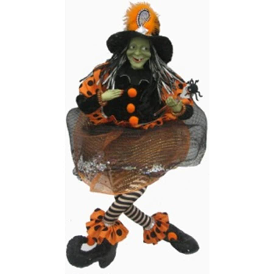 Plastic Decor Witch Halloween Collectible