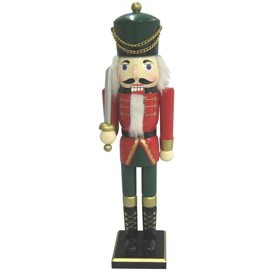 Holiday Living Wood Tabletop Figurine with Lights