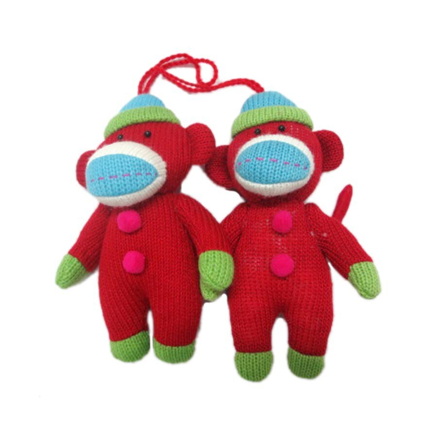 Holiday Living 2-Pack Red with Fun Holiday Colors Ornament Set