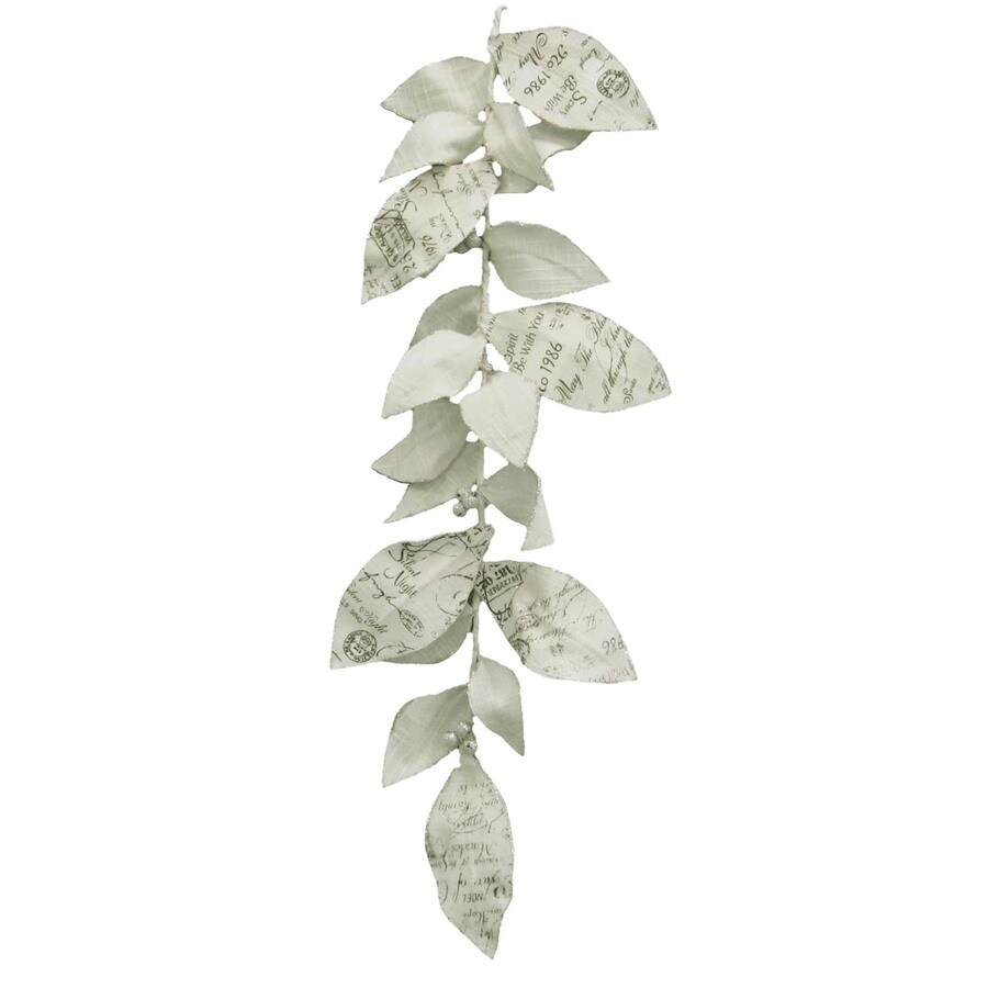 allen + roth 6-ft Leaf Artificial Christmas Garland