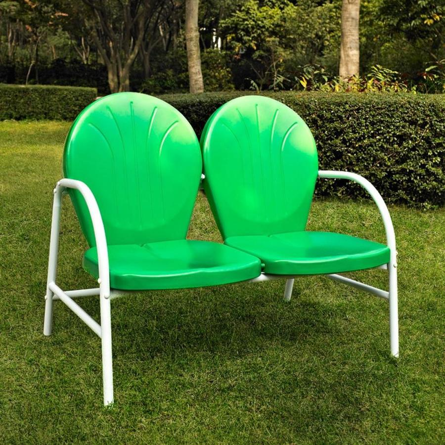Crosley Furniture Griffith Metal Outdoor Chair Grasshopper Green
