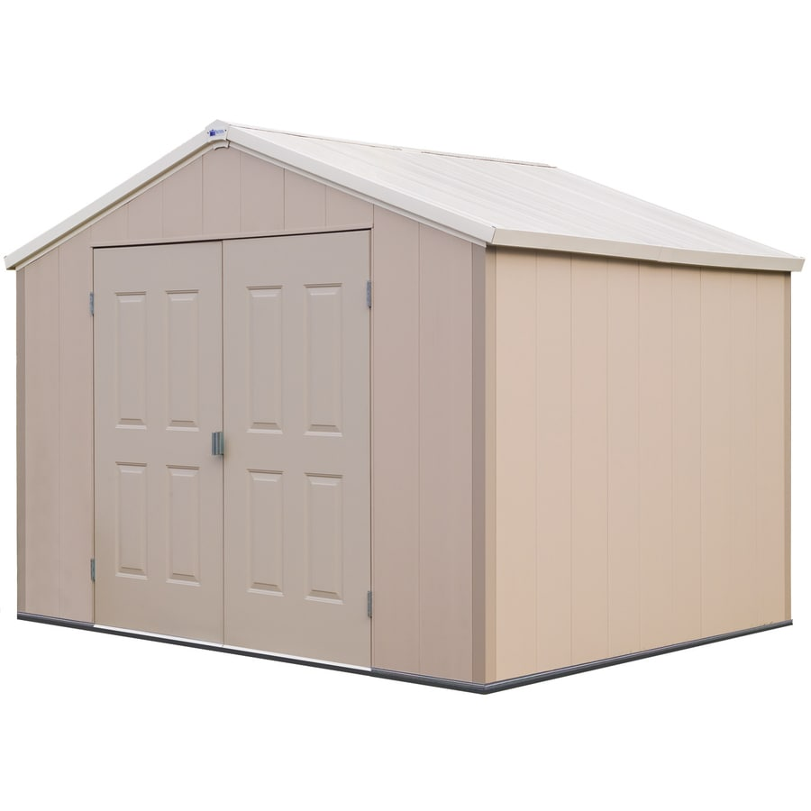 Barrette 10-ft x 8-ft Storage Shed (Actuals 9.848-ft x 8.145-ft)