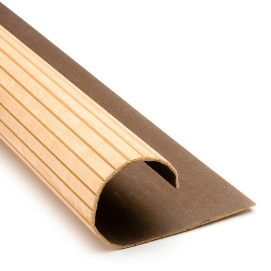 Pole-Wrap 16-in L x 4-ft H Unfinished Oak Fluted Column Wrap