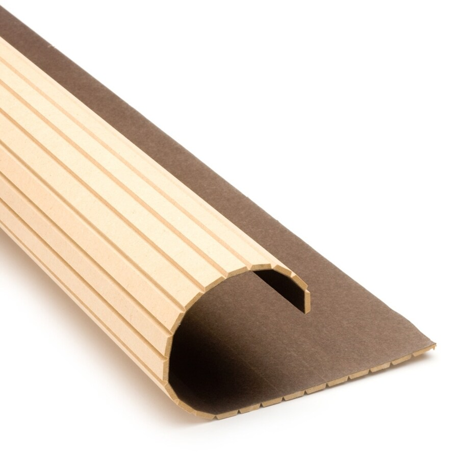 Pole-Wrap 16-in L x 4-ft H MDF Fluted Column Wrap