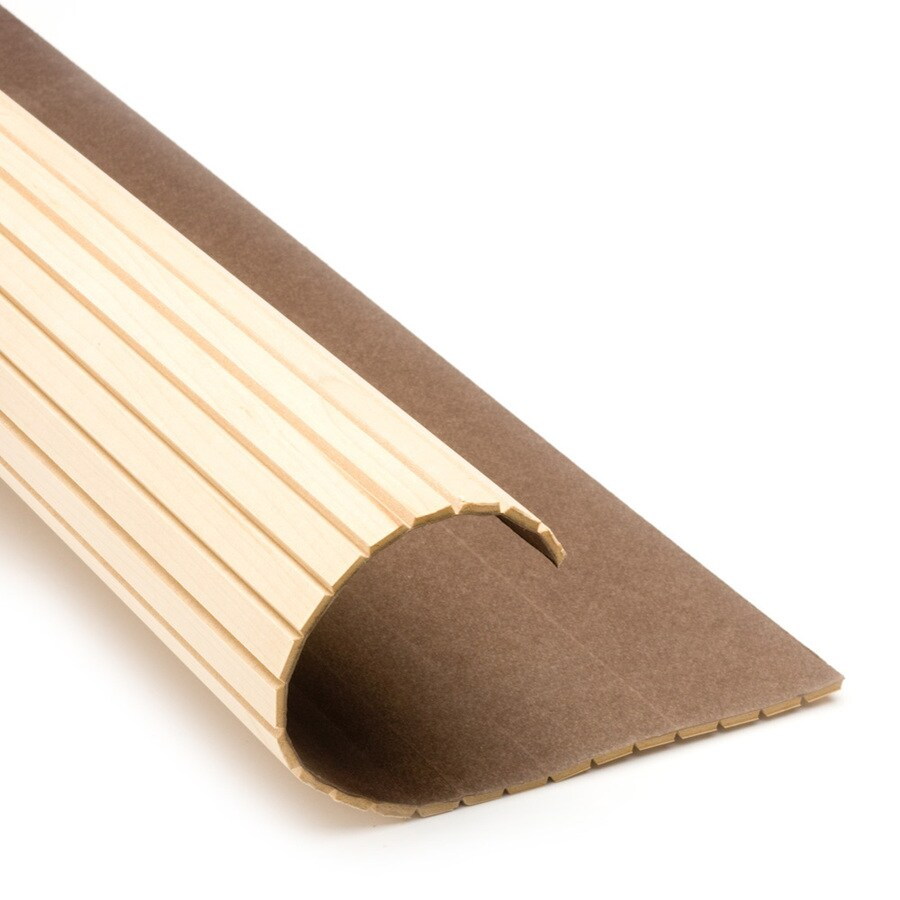 Pole-Wrap 48-in L x 8-ft H Maple Fluted Column Wrap