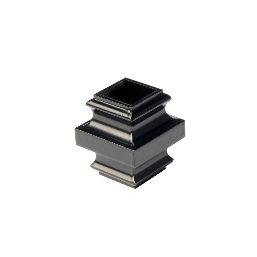 Deckorators Estate Black Aluminum Deck Baluster Collar