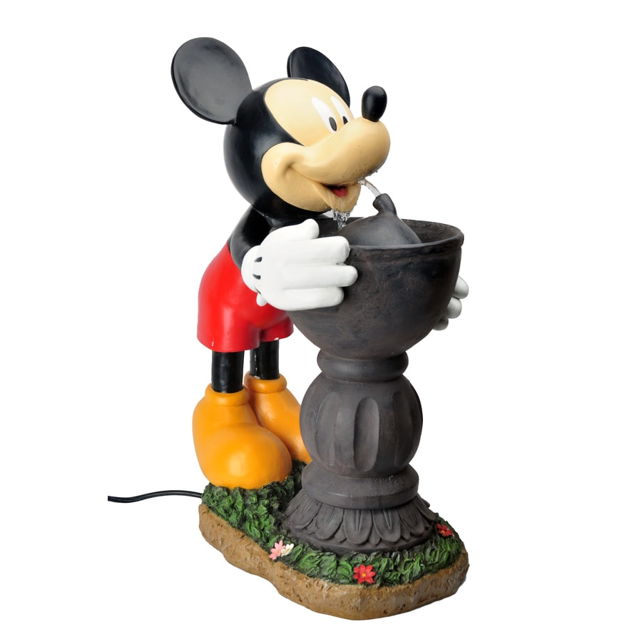 Shop Disney 25 5 In Resin Fountain Statue At Lowes Com