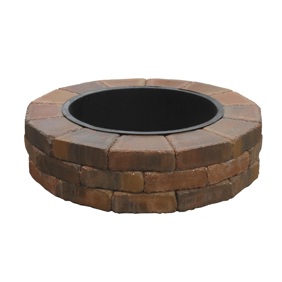 Country Stone Fire Ring Firepit Patio Block Project Kit