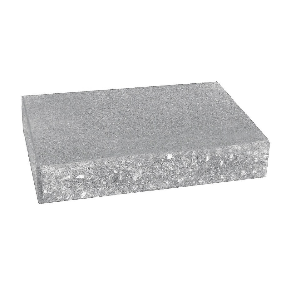 Country Stone Gray Straight Concrete Retaining Wall Cap (Common: 12-in x 2-in; Actual: 12-in x 2-in)