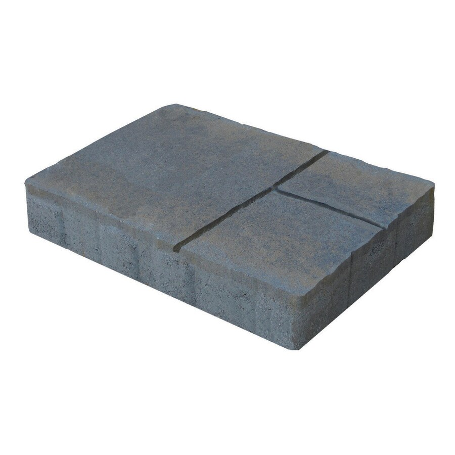 Country Stone Tan Black Durango Concrete Patio Stone (Common: 12-in x 16-in; Actual: 12-in x 16-in)