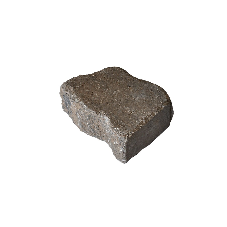 Country Stone Tan/Black Everest Concrete Retaining Wall Block (Common: 12-in x 4-in; Actual: 11.6-in x 3.7-in)