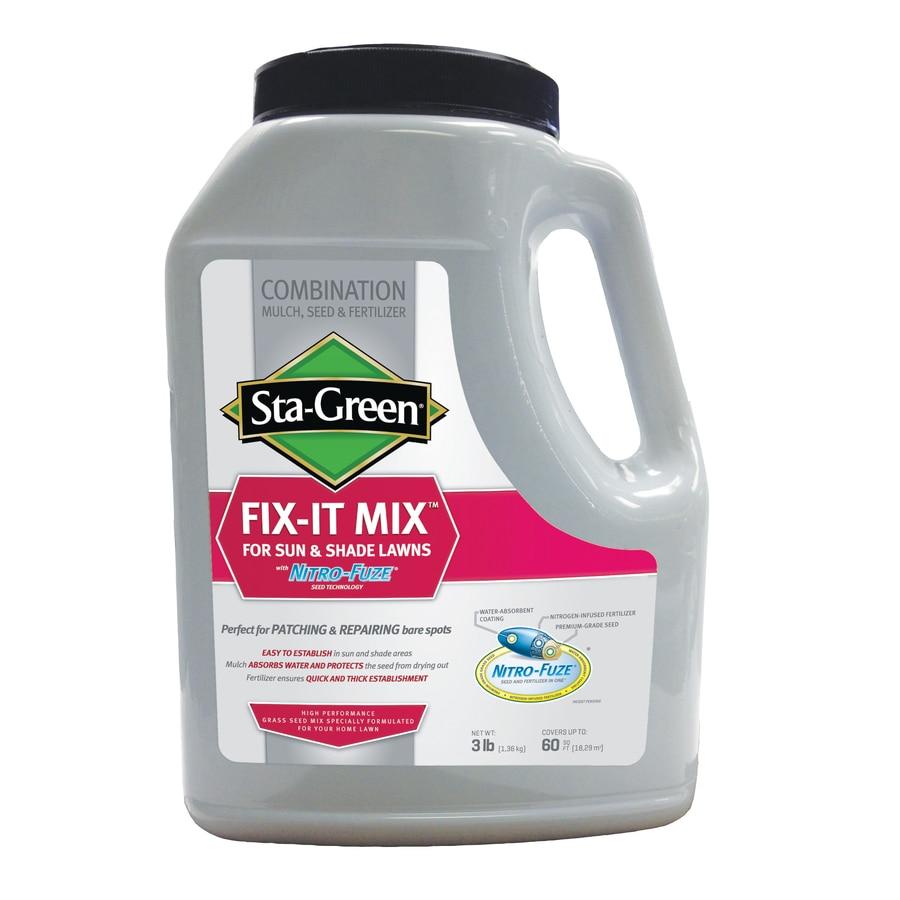 Sta-Green 3-lbs Nitro-Fuze Ryegrass Lawn Repair Mix