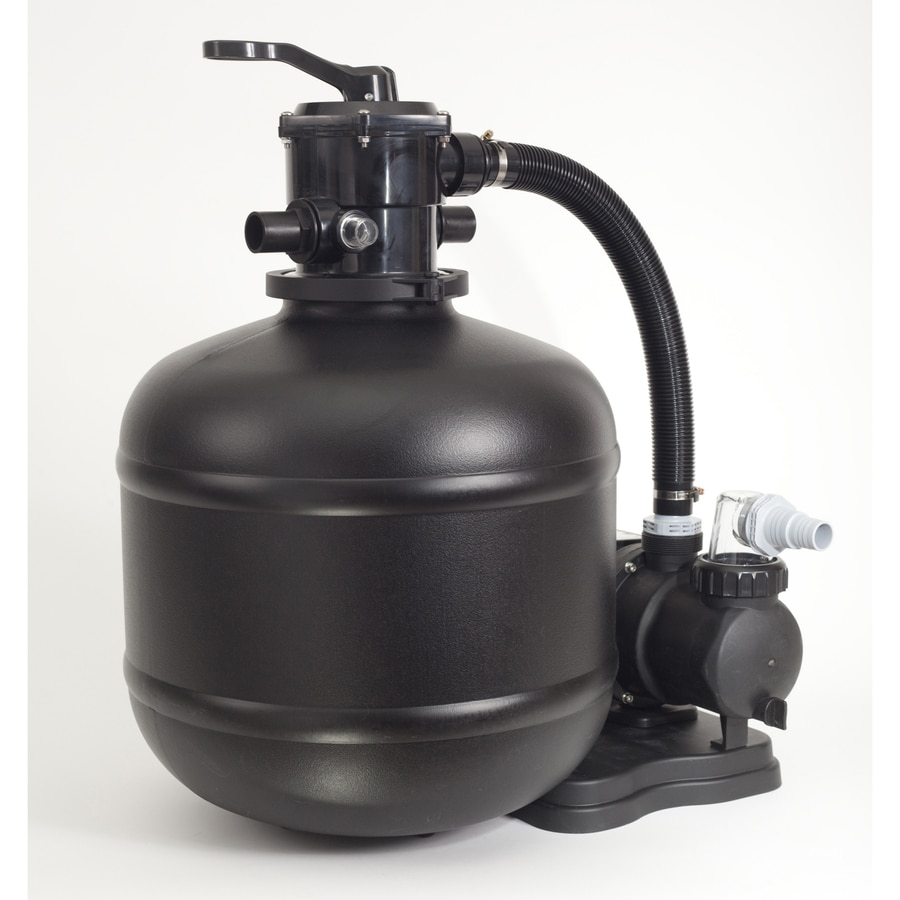 Sand Pro 2.48-sq ft Sand Pool Filter System with Pump