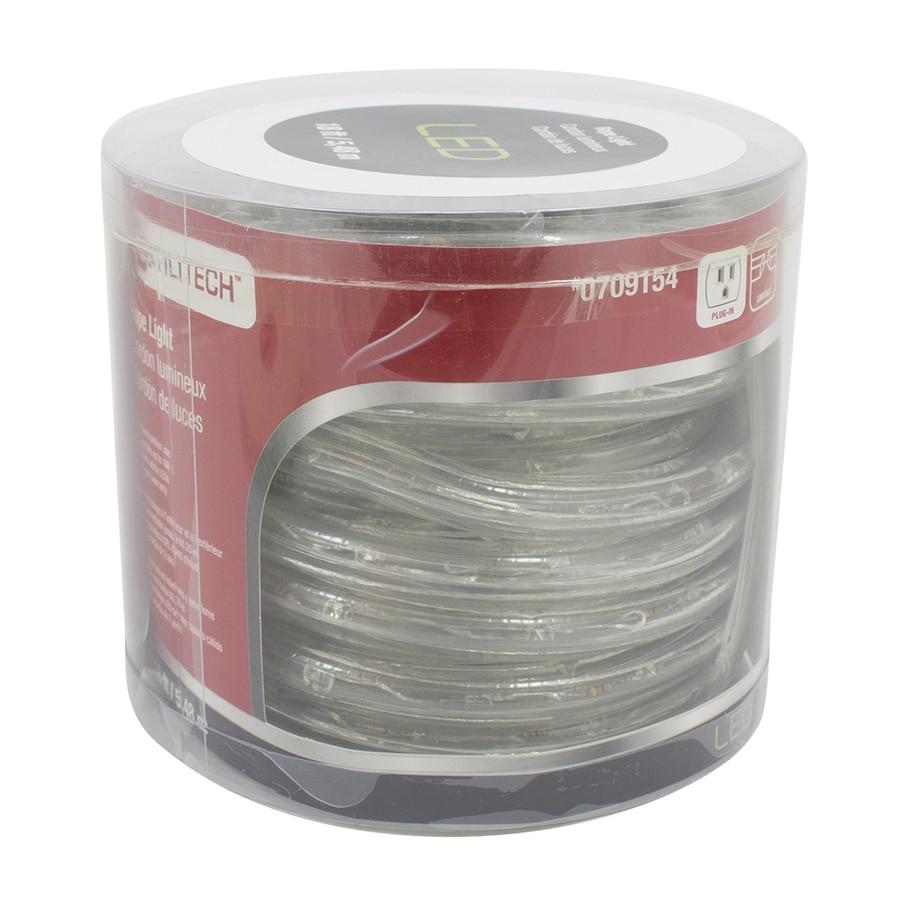 Utilitech Warm White LED Rope Light (Actual: 18-ft)