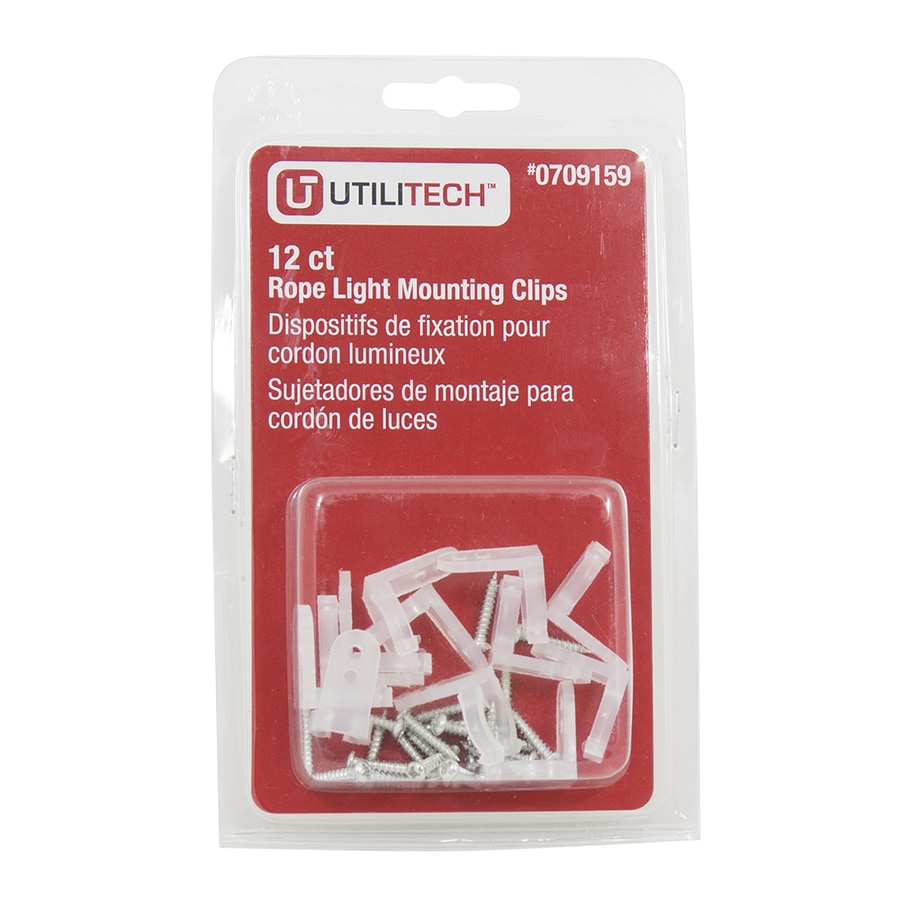 Utilitech 12-Pack Cabinet Lighting Hardware Kit