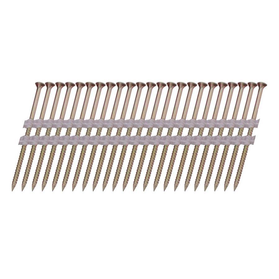 Scrail 1,000-Count #0 x 2-in Flat-Head Electro-Galvanized Phillips-Drive Interior/Exterior Wood Screws