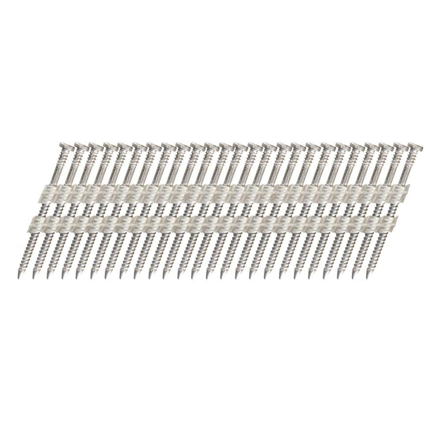 Scrail 1,000-Count #2 x 2.25-in Coated Standard Square-Drive Interior/Exterior Wood Screw