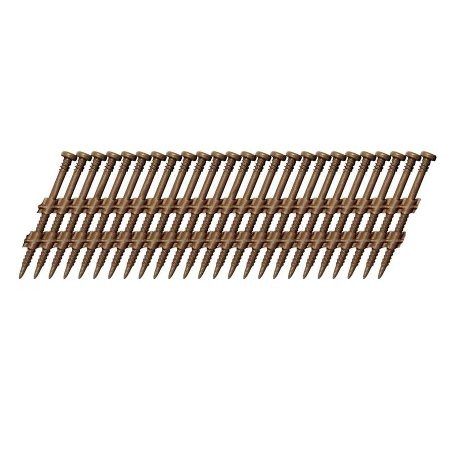 Scrail 1,000-Count #0 x 2-in Square-Head Brown Standard Square-Drive Interior/Exterior Wood Screw