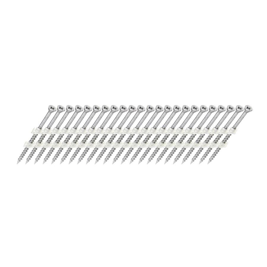 Scrail 1000-Count #0 x 2.5-in Square-Head Coated Square-Drive Interior/Exterior Wood Screws
