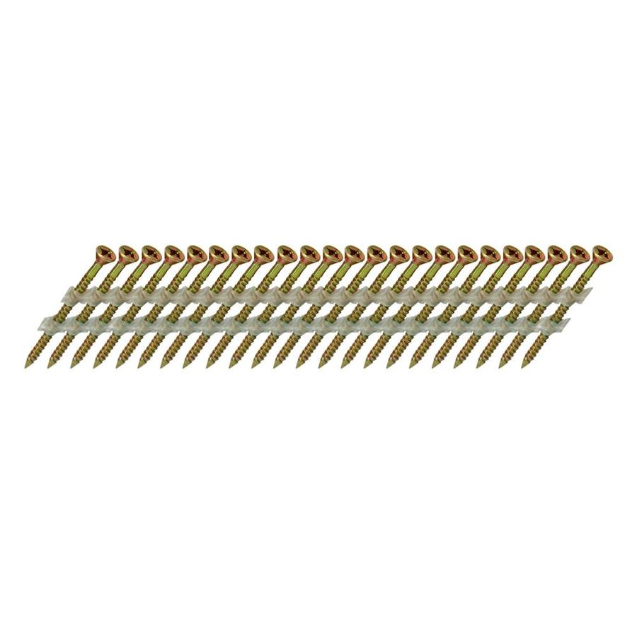 Scrail 1000-Count #0 x 2.5-in Flat-Head Electro-Galvanized Versa-Drive Interior/Exterior Wood Screws