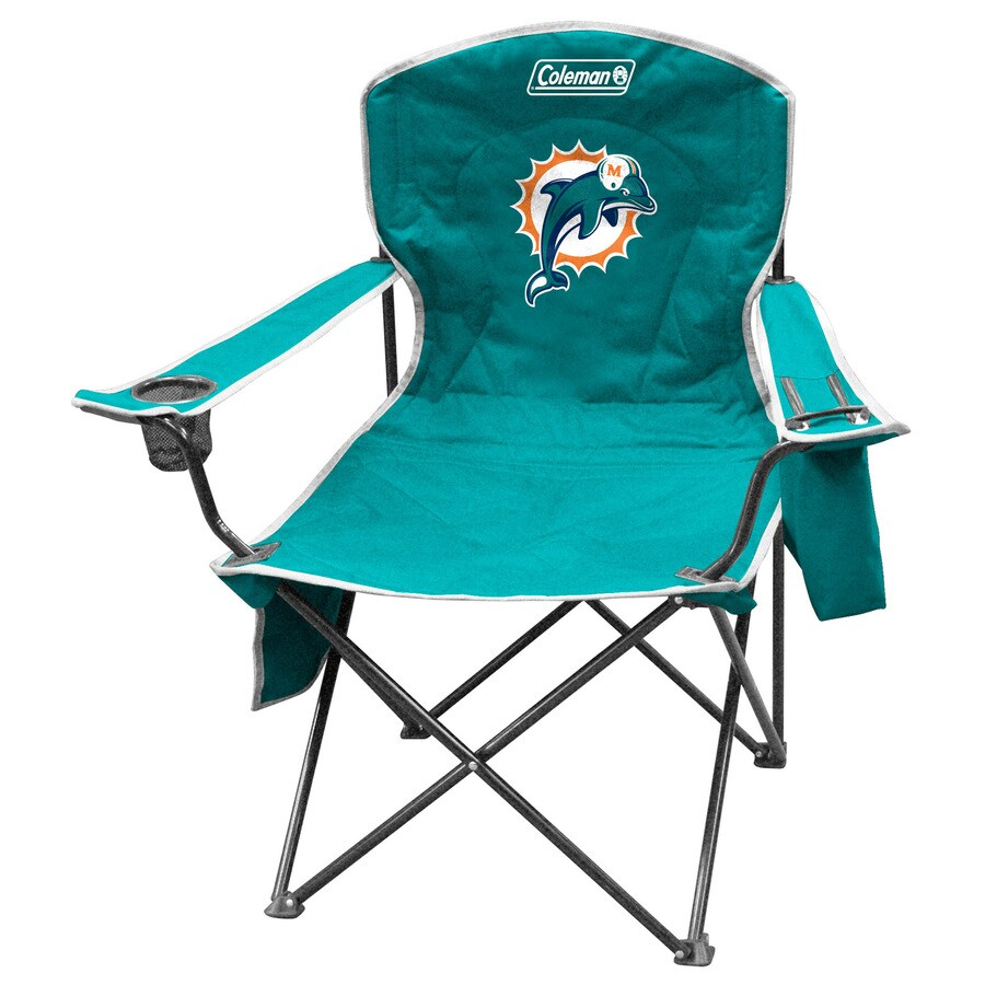 Coleman NFL Miami Dolphins Steel Chair