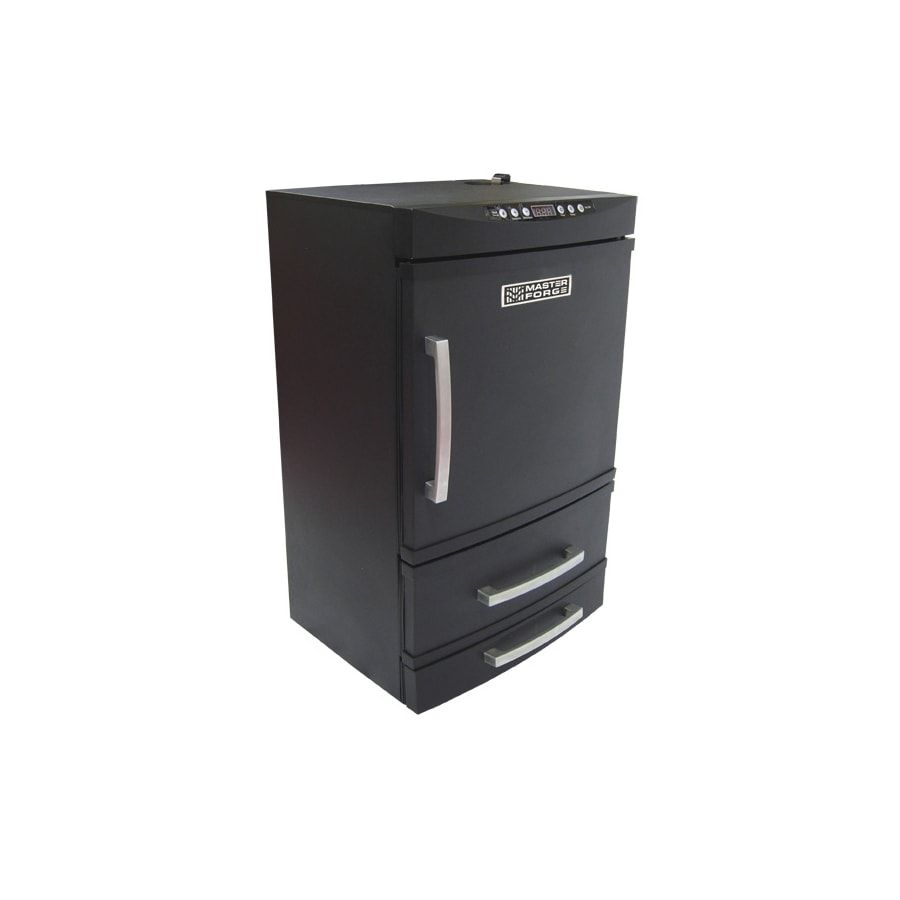 Master Forge Electric Smoker 800-Watt Electric Vertical Smoker (Common: 32.5-in; Actual: 32.5-in)