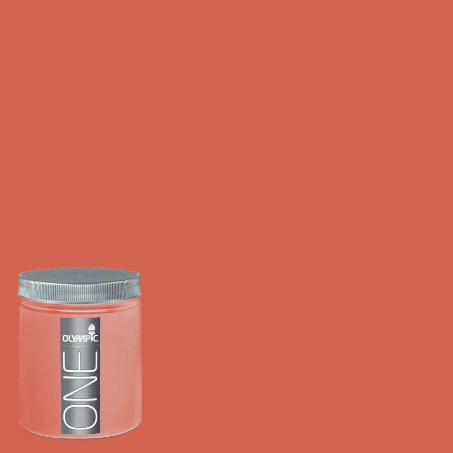 Olympic 8-oz Candy Corn Interior Satin Paint Sample