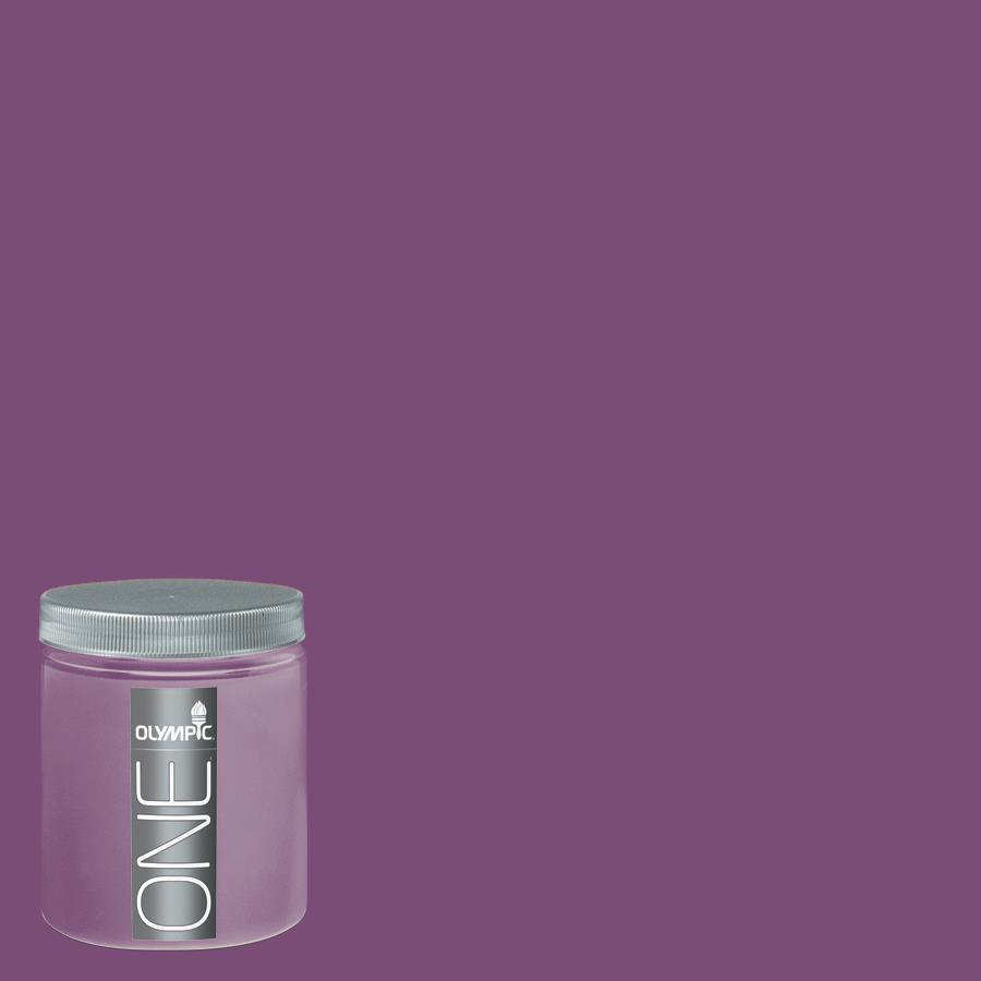 Olympic 8-oz Magic Magenta Interior Satin Paint Sample