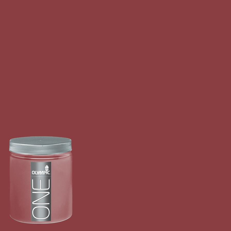 Olympic 8-oz Apple-A-Day Interior Satin Paint Sample