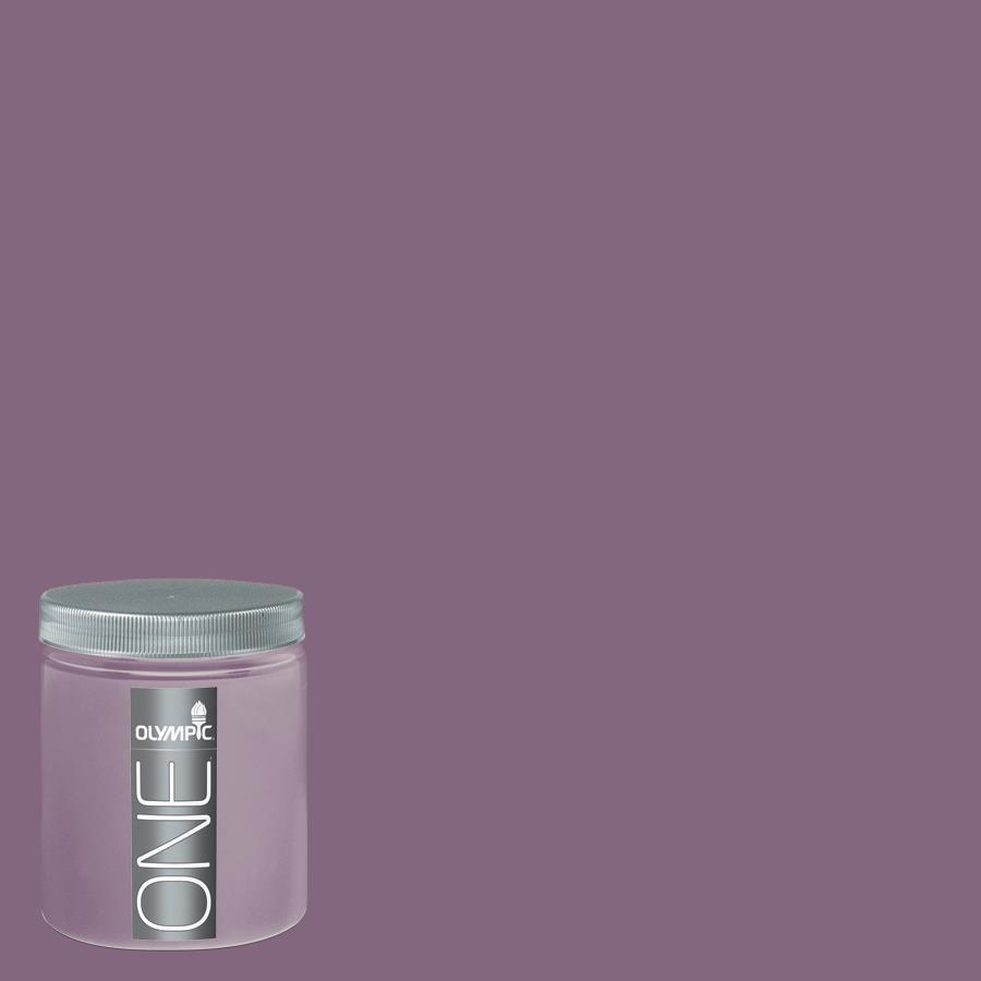 Olympic 8-oz Blackberry Jam Interior Satin Paint Sample