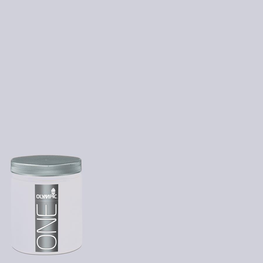 Olympic 8-oz Lavender Haze Interior Satin Paint Sample